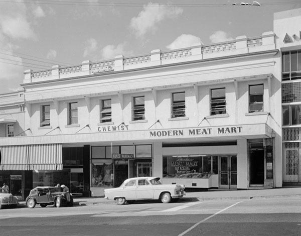 O'Sullivan's Buildings, 100 Brisbane Street, Ipswich 1960