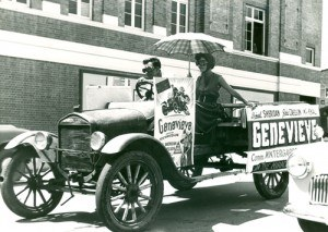 Promotion of the movie Genevieve - image courtesy of Picture Ipswich