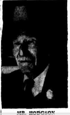 Joseph Hodgson - Image courtesy of The Queensland Times, 19 January 1954, p.2.